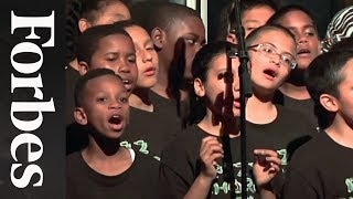 "PS 22 Chorus Performs ""All of Me"" at Forbes400 Philanthropy Summit"