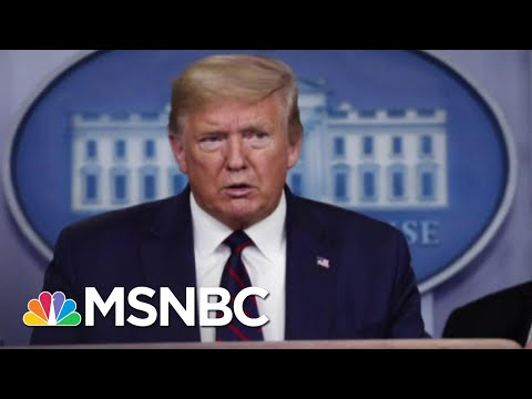 Trump Tries To Rewrite History After Delayed Coronavirus Response | The 11th Hour | MSNBC
