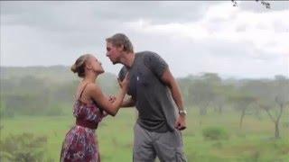 Dax and Kristen do Africa music video