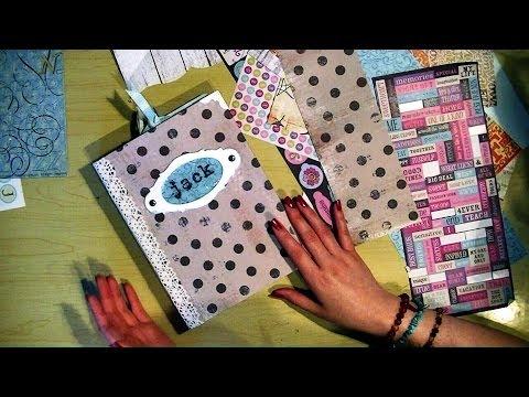 How I Make Friend/Family Journals