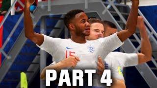 FIFA 18 World Cup Gameplay Walkthrough Part 4 - SEMI FINAL (ENGLAND)