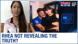 Sushant Singh Rajput's friend Krissann Barretto exposes shocking revelations of Rhea Chakraborty