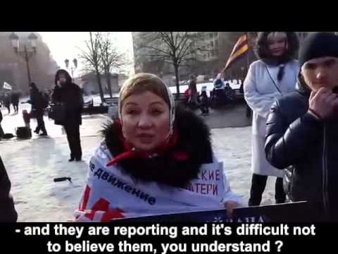 State-controlled media brainwashes the Russian population