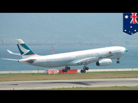 Airbus engine failure: Cathay Pacific flight makes emergency landing in Bali- TomoNews