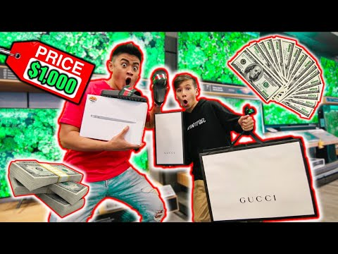 SURPRISING COUSIN WITH A $1000 SHOPPING SPREE! Ft. Jack Doherty *EMOTIONAL*