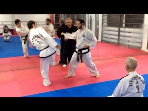 Master Vasilis Alexandris - ITF Taekwon-do One step sparring