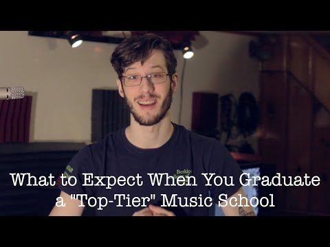 What To Expect When You Graduate From A Top-Tier Music School