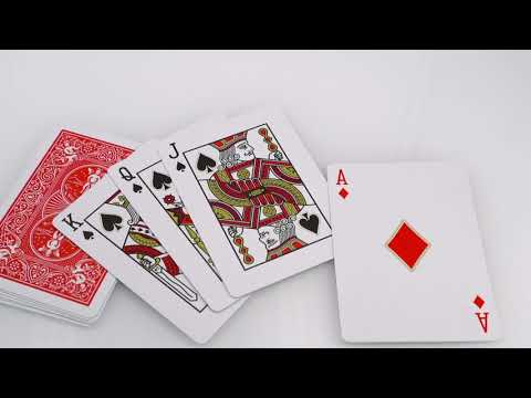 Bicycle Red Legacy Masters Playing Cards video