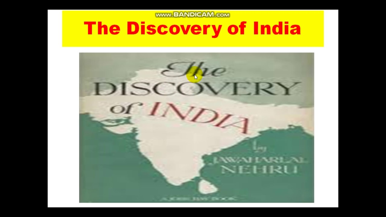 The Discovery Of India By Jawaharlal Nehru Pdf