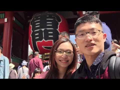 2017 May 白西夫妻 東京自由行 independent travel in Tokyo JP