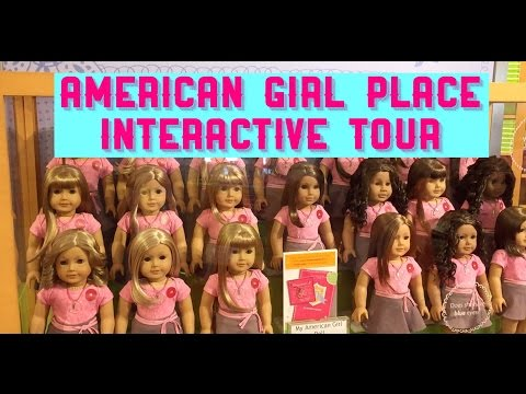 Tour The Entire American Girl Doll Store