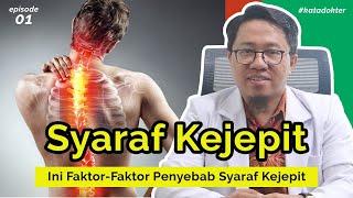 syaraf kejepit di tulang belakang akibat suka olahraga cardio dan sit up yang ga bener. kamu harus t.