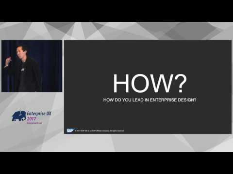 Sam Yen: Driving Organizational Change Through Design (EUX 2017 Theme 4)