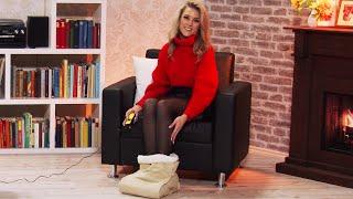 Katie Steiner liebt es ihre Füße zu verwöhnen! (Januar 2019) 4K UHD
