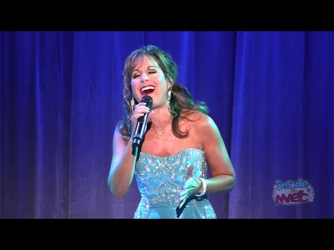 Jodi Benson voice of The Little Mermaid performs