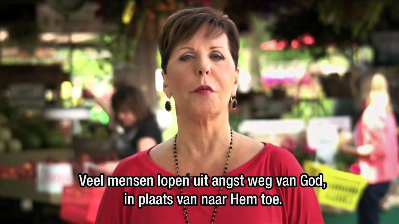 GOD IS NIET BOOS OP JOU - Joyce Meyer Nederlands