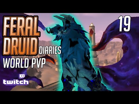 This is HOW you World PVP!  | 470 ilvl Feral Druid | 8.3 World PVP