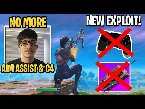 FaZe Sway Shows NEW EXPLOIT To *COUNTER* AIM ASSIST & C4 In Fortnite Update!