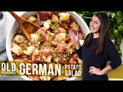 How To Make German Potato Salad | The Stay At Home Chef