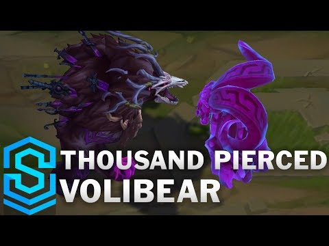 Thousand Pierced Volibear Skin Spotlight - Pre-Release - League of Legends