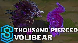Thousand Pierced Volibear Skin Spotlight - Pre-Release - League of Legends