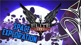 BEST space exploration game : ELITE DANGEROUS