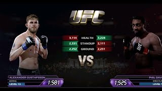 UFC EA Sports Boxing Alexander VS Phil Davis Gameplay