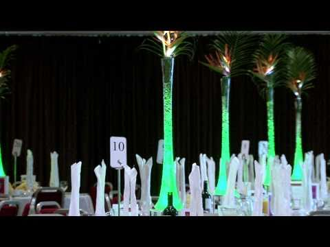 TableArt DMX Table Centres - Solar Powered Centre of Attention