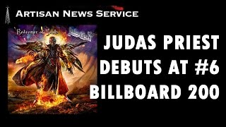"JUDAS PRIEST HAS BEST CHART POSITION ON BILLBOARD 200, ""REDEEMER"" OF AND BY FANS"