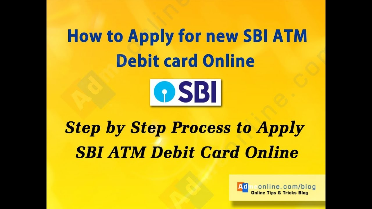Sbi forex card apply online
