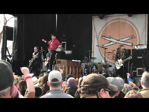Low Cut Connie @ Treefort Music Fest 2018, Main Stage, Boise, ID, 24 March 2018