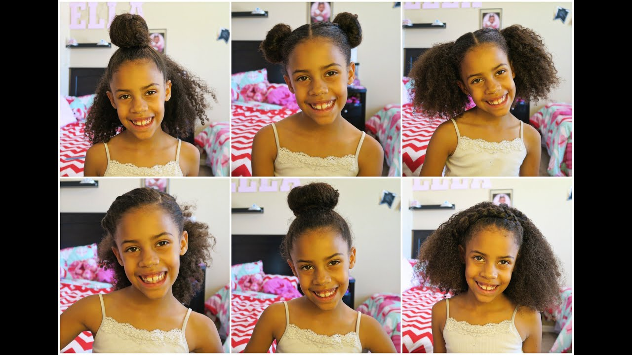 6 Quick & Easy Curly Hairstyles