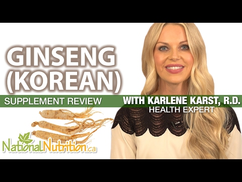Professional Supplement Review - Ginseng (Korean)