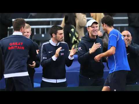 GB Davis Cup Captain Leon Smith chats about the quarter-final victory over USA