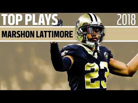 Saints Cornerback Marshon Lattimore's Best Of | Top Plays From 2018 | New Orleans Saints