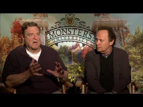 Monsters University -- John Goodman & Billy Crystal Interview