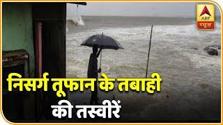 Nisarga Cyclone के तबाही की तस्वीरें