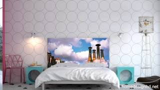 Bedroom Makeovers On A Whim  Noyo Headboards With Interchangeable Slipcovers [hd]