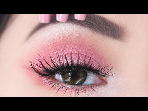 The EASIEST Valentine's Day Makeup You'll See | Kylie Jenner Pink Inspired Makeup Tutorial