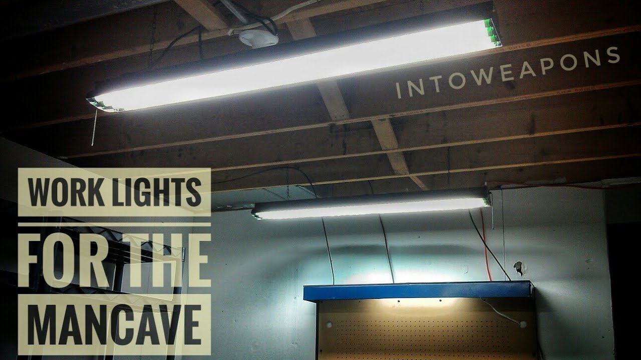 Marvelous Man Cave Update 3: Worklights   YouTube