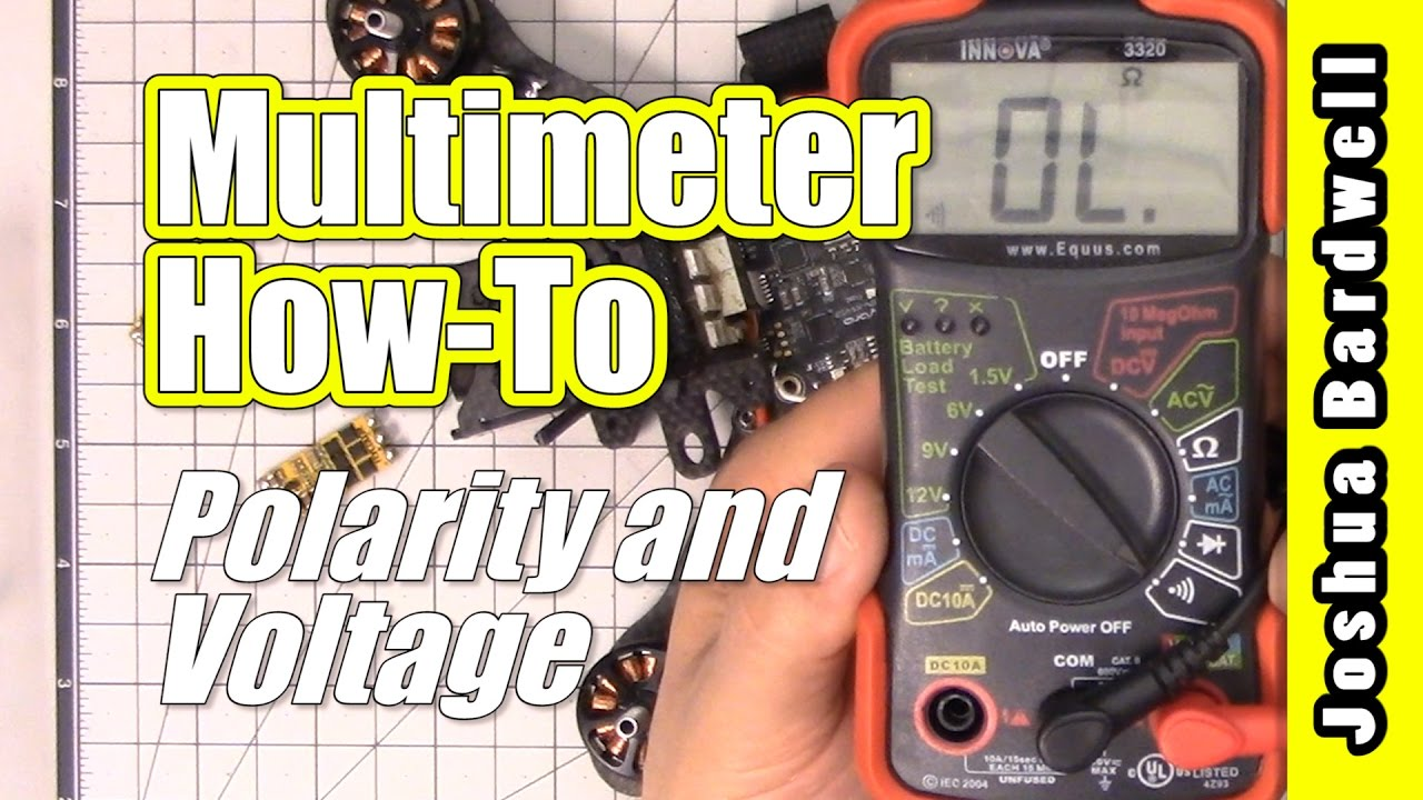 How To Use A Multimeter Verify Polarity And Voltage Youtube Dc Adapter Plug Wiring In Addition Power Connector