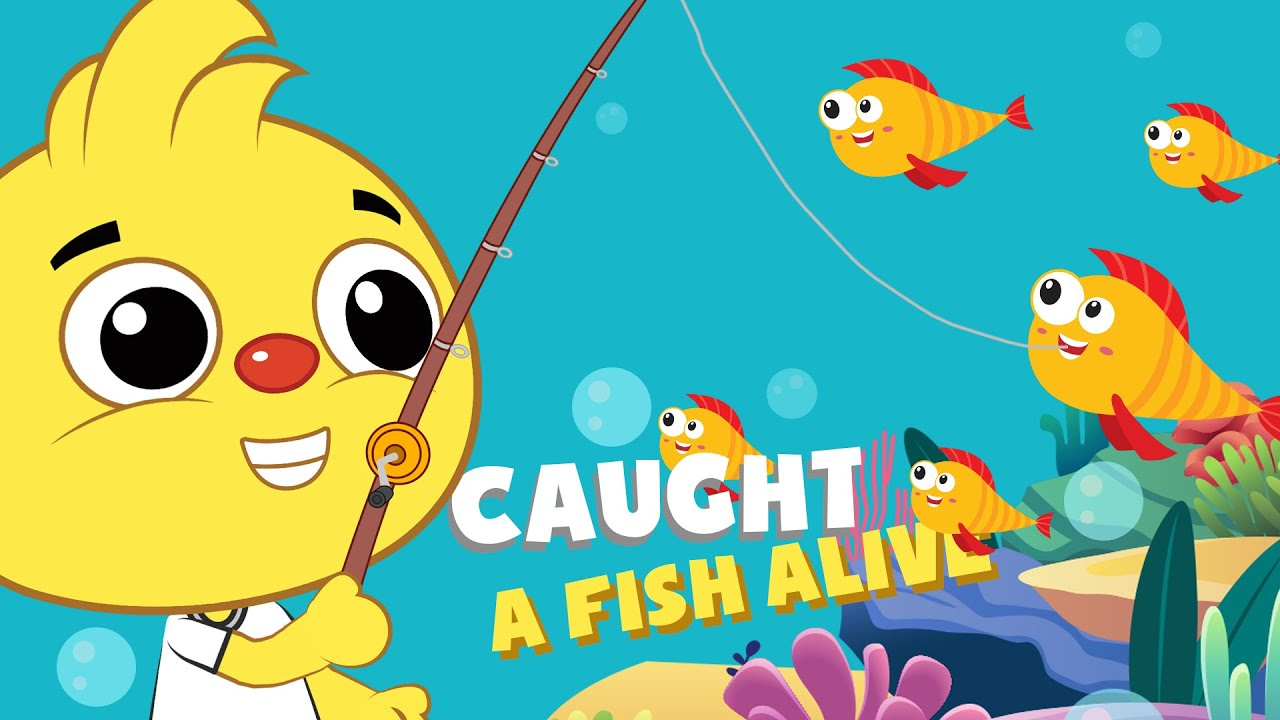 1, 2, 3, 4, 5, Once I Caught A Fish Alive | KIDSPlaytime Kids Songs and Nursery Rhymes