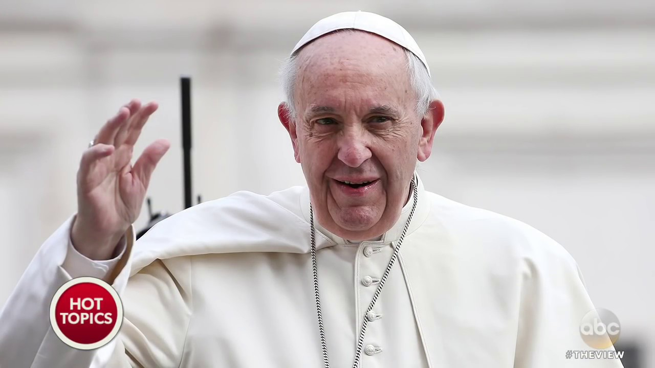 Pope Francis Embracing Gay Catholics?   The View