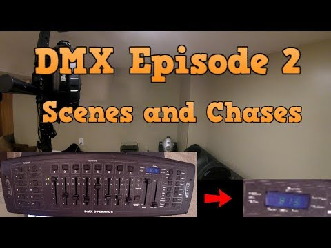 HOW TO DMX PROGRAM - SCENES AND CHASES