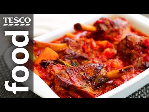 How To Slow Cook Lamb Shanks | Tesco Food
