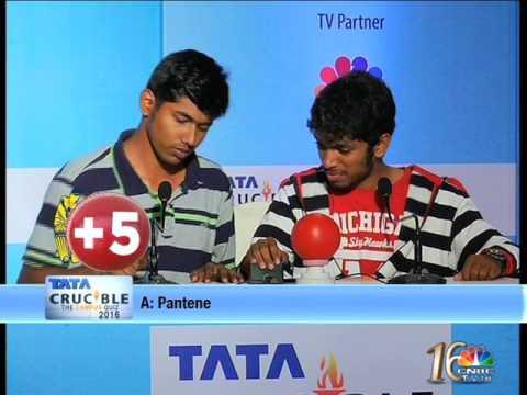 Tata Crucible The Campus Quiz 2016 Coimbatore Final Part 2
