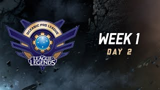 OPL Split 2 2017 - Week 1 Day 2: LGC vs. SIN | AV vs. TM thumbnail