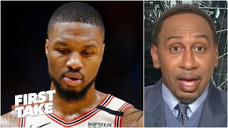 Stephen A. doesn't believe Damian Lillard will ever win a championship with the Blazers | First Take