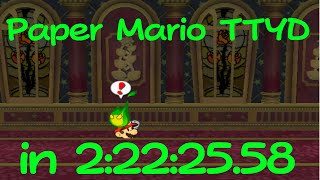 (TAS) Paper Mario: The Thousand-Year Door in 2:22:25.58 by Malleo