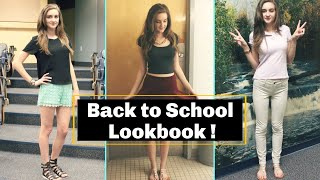 Back to School Outfits / Lookbook ♡ Thumbnail